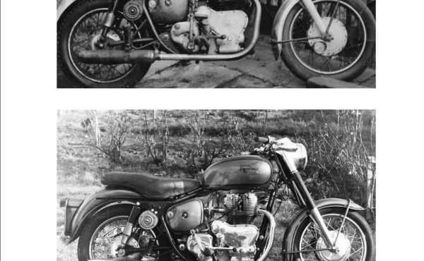 Royal Enfield before and after