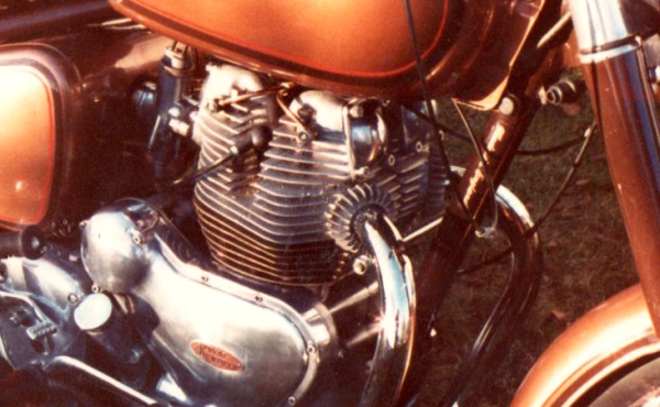 Royal Enfield after 1980 restoration