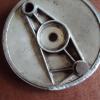 Brake plate repair