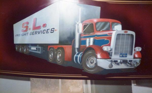 Lorry detail